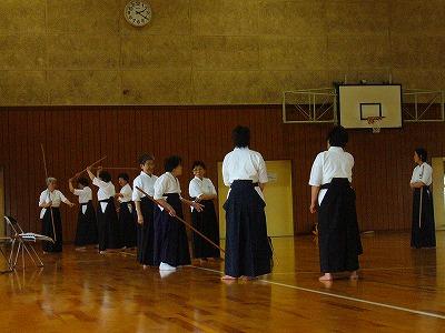 薙刀練習②