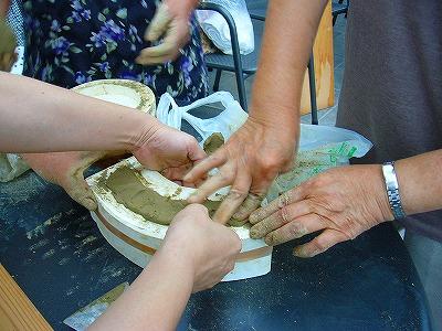 軒平瓦作り1