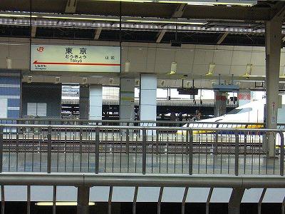 東京駅無事到着