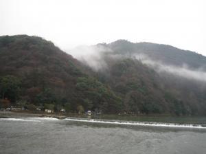 京都・大阪旅行(渡月橋)