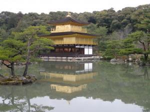 京都・大阪旅行(金閣寺)