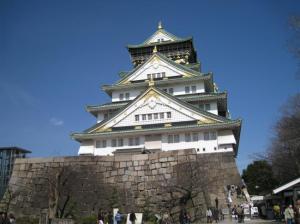 京都・大阪旅行(大阪城)