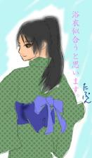 シェーラ浴衣(早村様から)