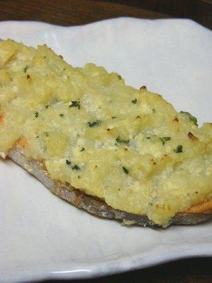 サーモン&マッシュポテトのグリル焼き