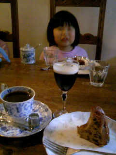喫茶店でお茶♪