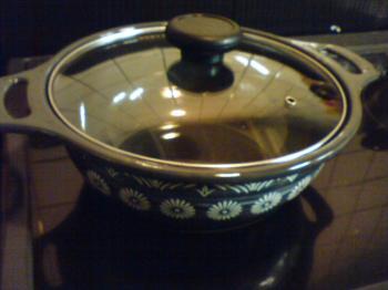 ホウロウの鍋