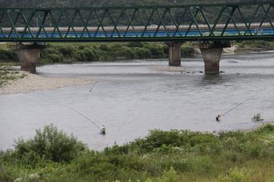 荒川鮎釣り