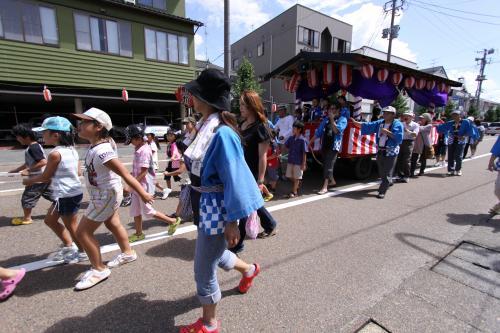 坂町祭り 山車