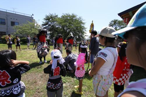 坂町祭り 神楽