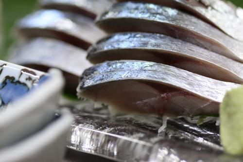 いそべの一品 日本海 〆鯖刺身