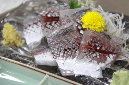 いそべの一品 日本海 鯵刺身