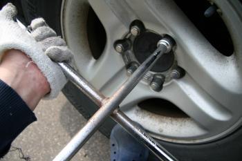 いそべ タイヤ交換