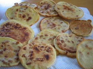 玄米粉のパンケーキ2