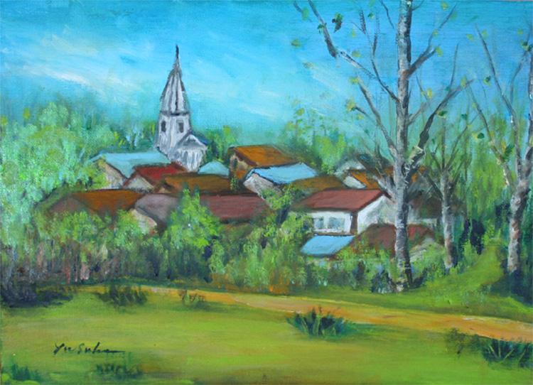 教会への路