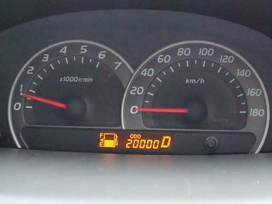 20,000キロ