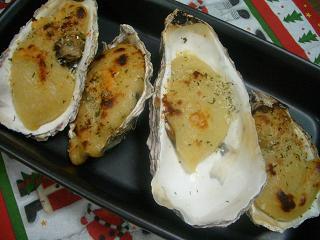 牡蠣のクリームグラタン