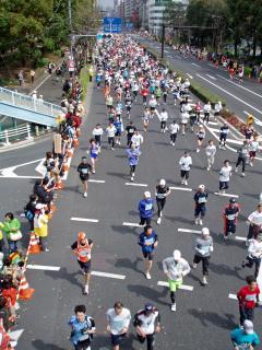 東京マラソン 063