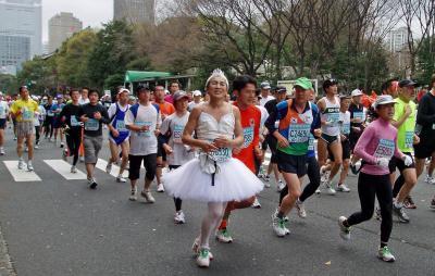 東京マラソン 095