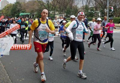 東京マラソン 109
