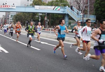 東京マラソン 044