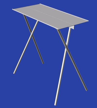シングルバーナー用テーブル1