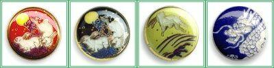 薩摩ボタン兎と龍