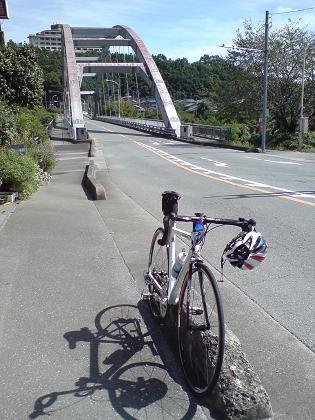 波久礼駅前の橋