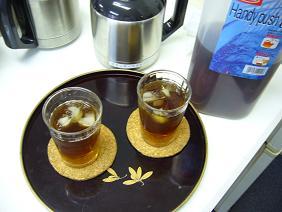 麦茶です♪