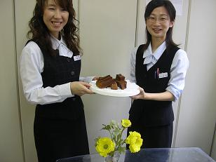 チョコケーキ(2)