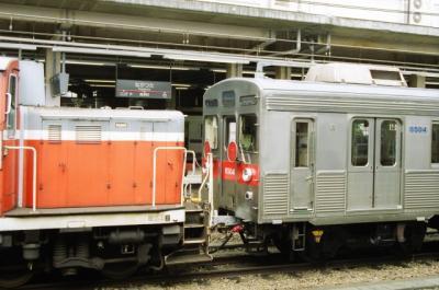 機関車連結