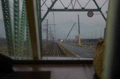 村山橋通過