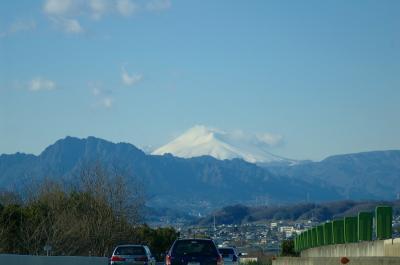 浅間山と妙義山