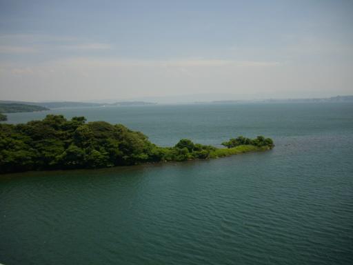 ツイン ブリッジから見た海