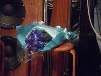 vo大野いずみさんに送られた花束