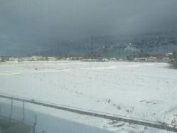 新幹線のぞみ車窓
