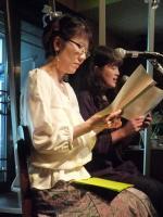 朗読「COSUMOS」 勝矢敦子さん 横田礼子さん