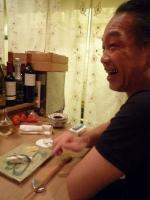 【寿し おおはた】の料理を食べるg村山義光氏