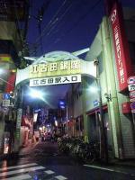江古田の商店街