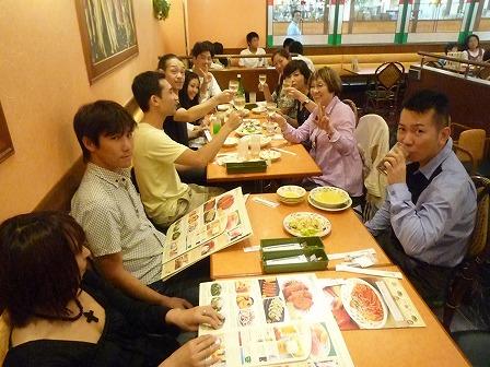 和泉の国ジャズストリート2011 打ち上げ