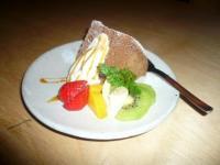 本日の【common cafe】の「cafe millet」のスイーツ