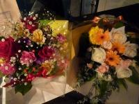 vo田中千賀さんへの花束