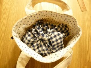 あづま袋とバッグ