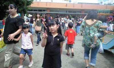 090803さゆり幼稚園同窓会実織