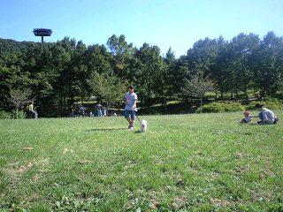 090920阿須の公園実織とベリー1