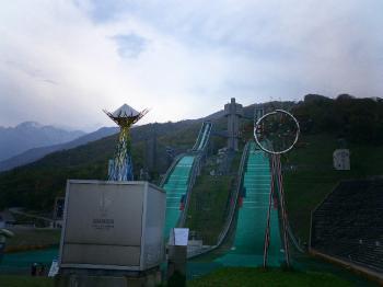白馬ジャンプ競技場