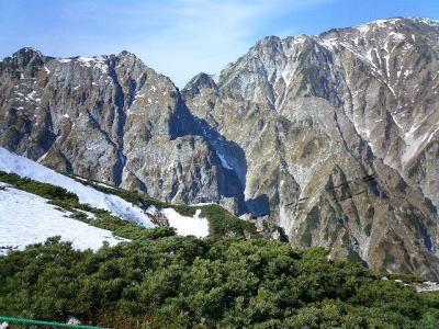 アルプスの 山々