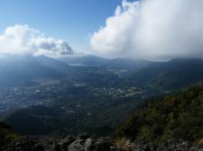 芦ノ湖方面