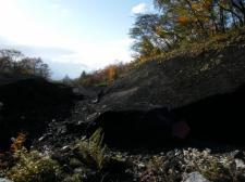 富士独特の黒い土