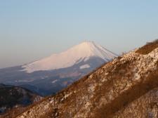 花立山荘・富士山