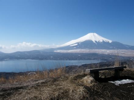 太平山からの富士